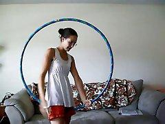 a hullahup girl with hairy armpits