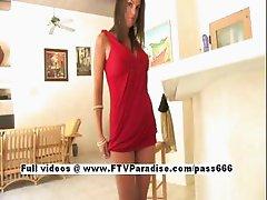 Shae tender lovely woman posing
