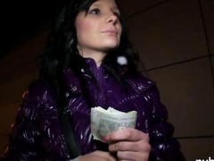 Czech slut Maja sex for a chunk of cash