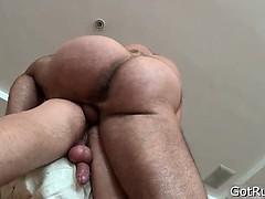 Deep anal penetrating massage part2