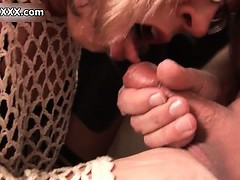 Old man jerks off her dicks when appears part6