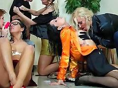 Nasty Lesbian Orgy