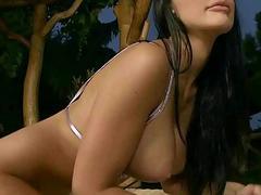 Aletta Ocean enjoys rough anal sex