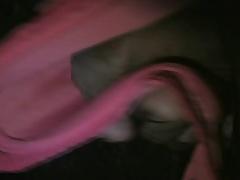 pink polka dot bra