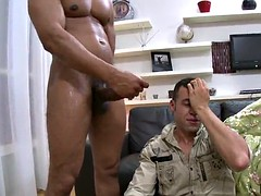 gay stud is fucked by a black monster cock