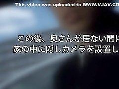 Crazy Japanese chick Riku Minato in Horny Voyeur JAV video