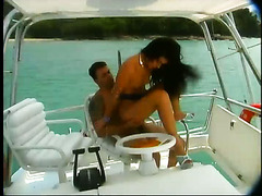 Tamiry Chiavari is naturally gorgeous and she is fucking on the boat
