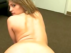 Hot Babe Gets A Cumshot All Over Her Face