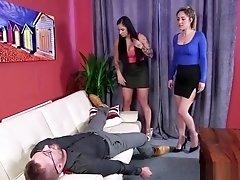 Classy Domina Sucks Cock