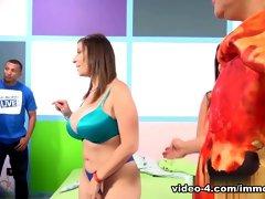 Best pornstars Jennifer White, Amirah Adara, Sara Jay in Horny Big Ass, Stockings adult video