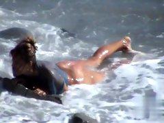 Nude Beach. Voyeur Video 252
