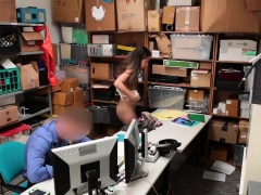 Caught Red-Handed And Bribed To Fuck - LifterSex