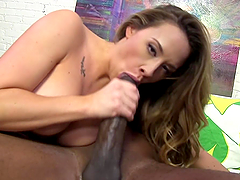 Monster cock sex leaves Chanel Preston out of breath