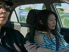 Japanese pornstar being nailed hardcore in a juicy bondage fetish action