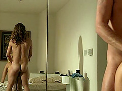 Guy with a long hair gets lucky with a blonde who needs a dick