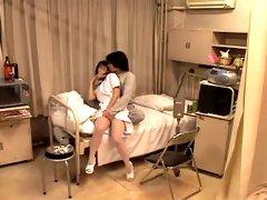 Sweet Japanese nurse dicked in medical fetish video