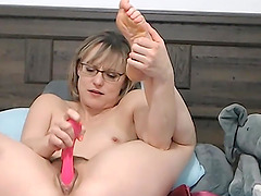Hot blonde milf seducing and teasing on cam for fun
