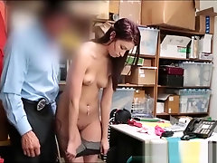 Cute Teen Caught Shoplifting Then Fucked By Store Manager