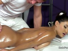 Innate ginormous melons Chinese fucks massagist - PornGem