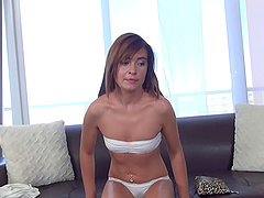 Cutie with a tight ass gets drilled during an audition