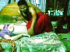 Indian sexy slut with her man sucking his hard dick and rides it with pleasure