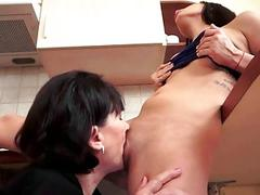 Grannies and Teens Hot Passionate Sex Compilation