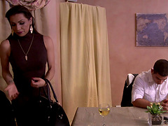Jessy Dubai cannot resist a handsome hunk's warm touch