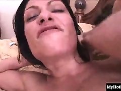 Ava Lauren invites her pool guy into her house for a hardcore one