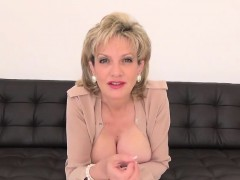 Unfaithful british milf lady sonia exposes her heavy titties