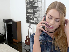 Jill Kassidy takes off her clothes for a man's erected boner
