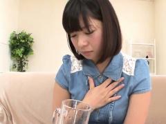 Pee drinking asian teen
