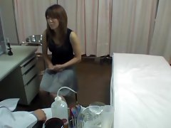 Hidden camera medical fuck in the kinky doctor office