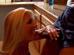 Super fit black guy picks up a white milf and fucks her brains out