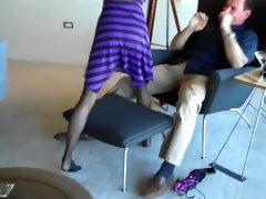 Hottest amateur MILF, Foot Fetish adult clip