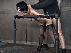 Slave whore does what ever master wants