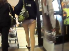 Girlfriends public flashing and amateur voyeur