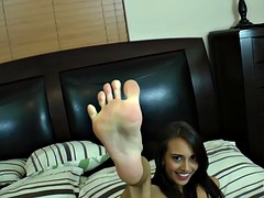 Working with fantastic bitch gives the perfect foot
