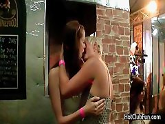 College Girls Kissing And Exposing their Hot Bodies