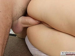 The beautiful Alexis gets her ass tapped. After she squirts