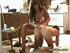 Wife uses buttplug on her husband